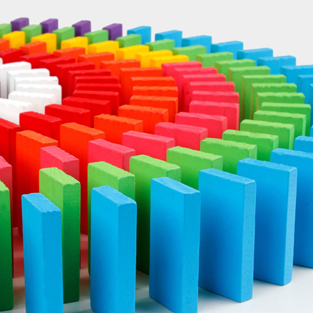 Реагируйте в одной цепочке, а затем падайте один на OneChildren's домино игра деревянные органы для взрослых соревнований строительные блоки игрушки