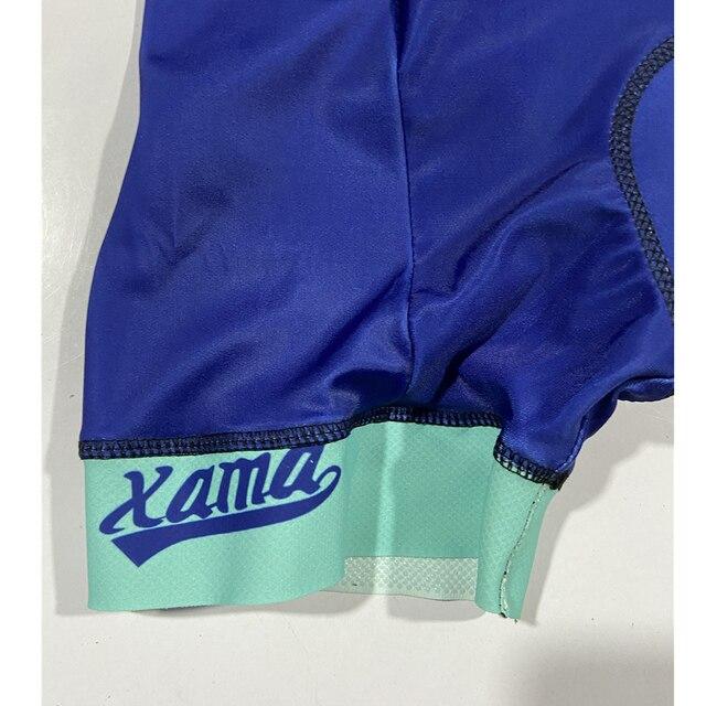 2020 xama verão ciclismo macacão de manga curta skinsuit profissional ciclismo roupas roupa ciclismo equipe roadbike correndo terno 4