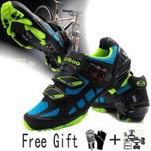 Велосипедная обувь Tiebao профессиональная sapatilha ciclismo MTB горный велосипед chaussure vtt для женщин и мужчин велосипедная обувь