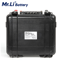 24V 100Ah Lifepo4 Battery Pack With Build in BMS For Solar System Energy Storage Power Outdoor RV Power Supply