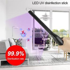 Портативный USB Перезаряжаемый УФ-стерилизатор, светильник, палочка для палочки, домашний отель, ручной бактерицидный Светодиодный УФ-свети...