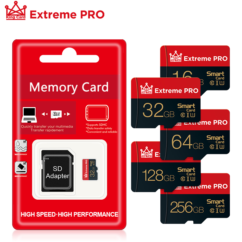 Cartão de memória micro sd tf cartão 8 16 32 64 128 256 gb classe 10 flash microsd 8gb 16gb 32gb 64gb 128gb 256 gb para o adaptador do smartphone|Cartões de memória|   -