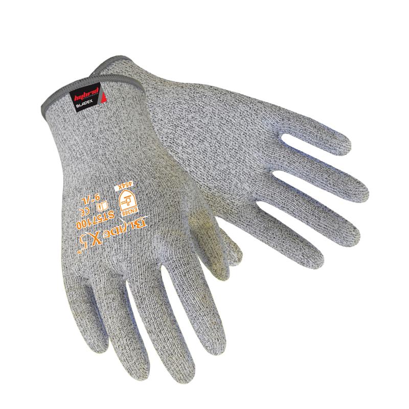Anti-cut Gloves Level 5 Antibacterial Accessible Food Anti Cut Gloves BladeX Fiber Flexible Mechanics Gloves Work Gloves