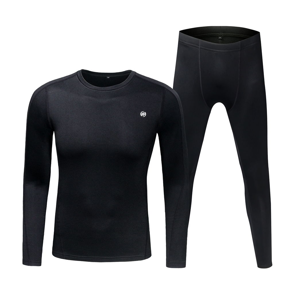 Breathable Winter Thermal Underwear Long Sleeve Base Layer Top & Bottom Set