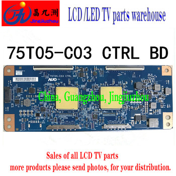 100% tested good working high quality for original 98% new t315xw02 v6 ctrl bd 06a10 1c 06a10 1b logic board 2pcs lot Original Sony KDL-75X8566E logic board 75T05-C03 CTRL BD spot