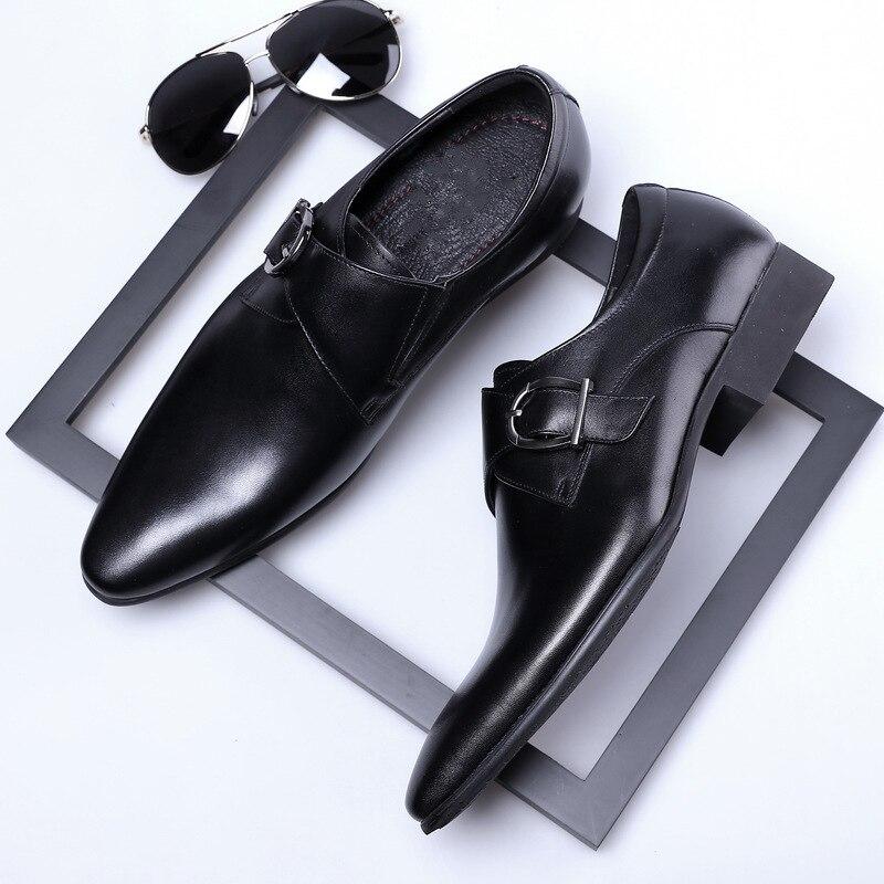 monge cinta oxford sapatos para homem casamento