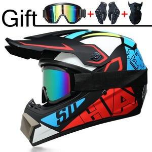 Motorcycle-Helmet Downhill Casque Moto Motocross Professional Helme3 Racing DOT Kid Free-Gift
