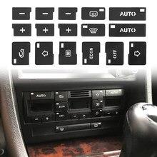 Авто Кондиционер AC климат-контроль Кнопка Ремонт наклейки для Audi A4 B6 B7 2000 2001 2002 2003 2004