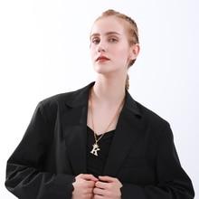 худи rock angel rock angel ro050ewgfzx4 Crystal Zirconium Crown Initials Necklace AZ Alphabet  Angel Pendant Necklaces  Hip Hop Men Fashion Women Rock Gold Plated Chain