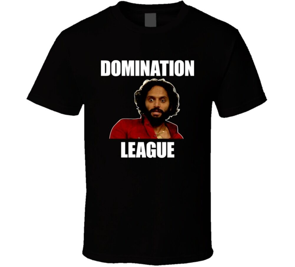 Rafi The League Tv Show Fantasy Football Domination T Shirt Summer O Neck Tops Tee Shirt image