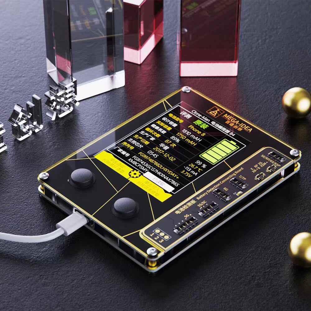 Qianli Mega-Ý Tưởng Pin Dụng Cụ Sửa Chữa Cho Iphone 6-X XS Xsmax Chép Pin Chính Hãng Ghi Dữ Liệu Chu Kỳ Đặt Lại Hiệu Quả hiệu Chỉnh