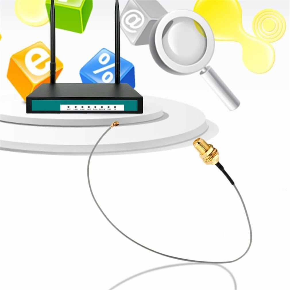 Dropshipping U. FL IPX a RP-SMA cable flexible de puente RF hembra para tarjeta Wifi de PCI comprar 1 obtener 1 gratis