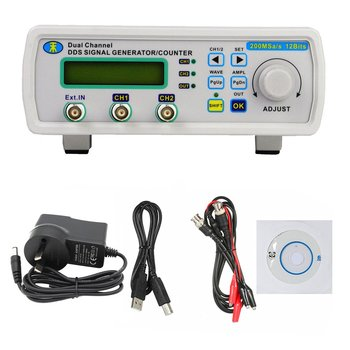 MHS-5200A 25MHz Digital DDS Dual-channel Arbitrary Waveform Functional Signal Generator Frequency Meter High Precision