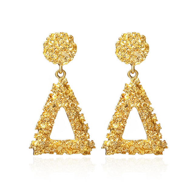 Round and Triangle Earrings - 29 Style 4