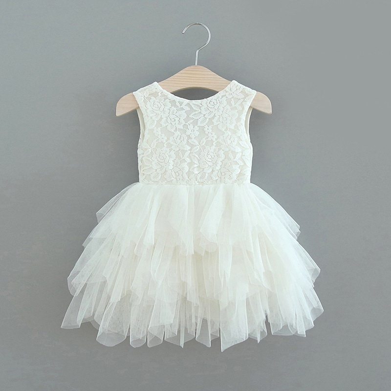119-5-Lace Tulle Girls Dress