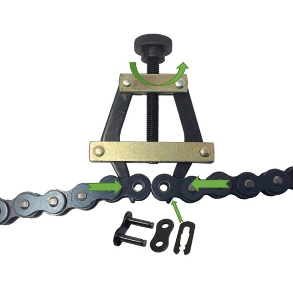 #25#35#40 roller chain with 1 connecting chain For replacing mini bikes