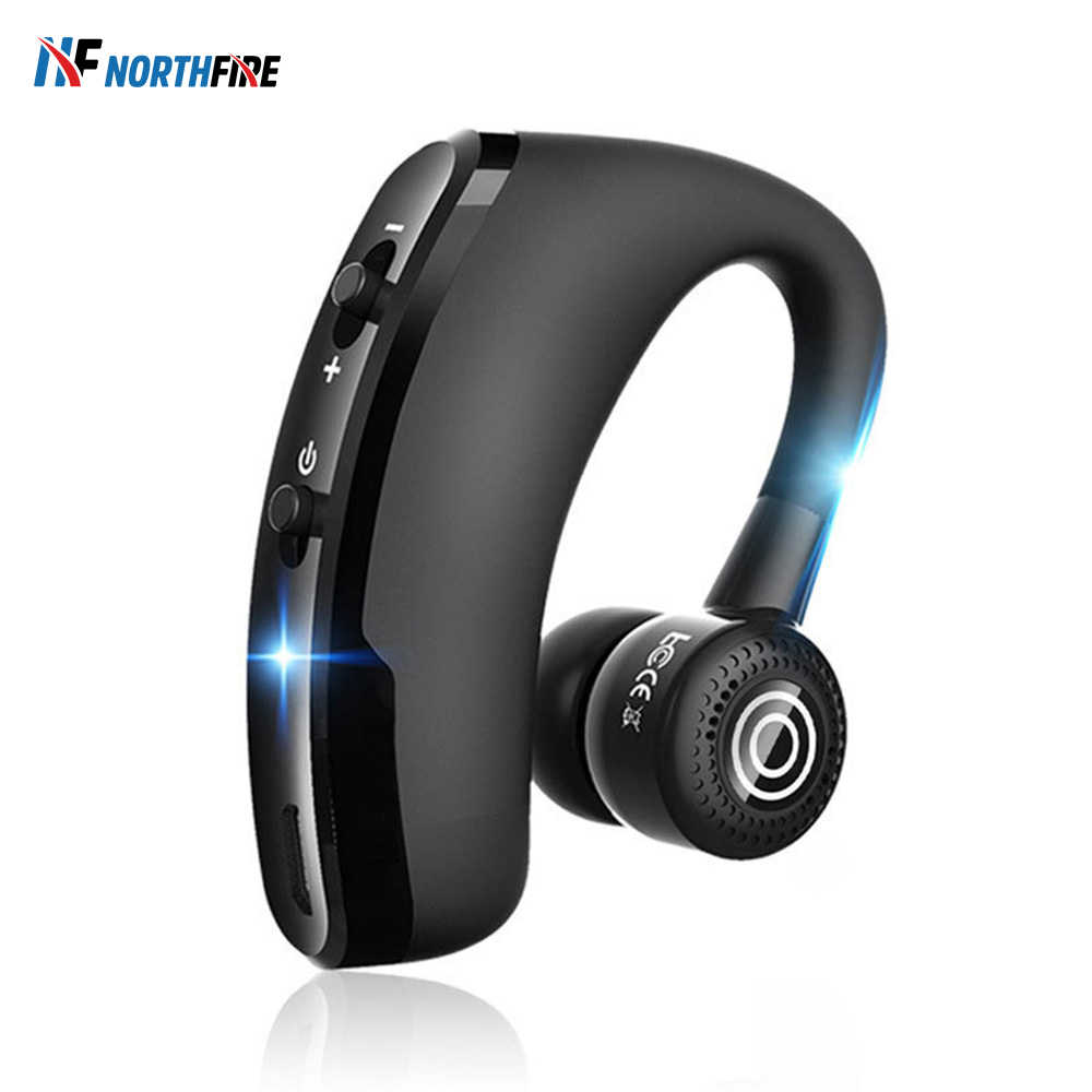 V9 Business Wireless Bluetooth Earphones Noise Control Driving Headphone Safe Driver Earphone Handsfree Earbuds Headset With Mic Aliexpress