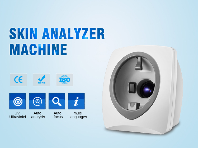 2019 New Top Quality Most Popular Magic Mirror Skin Analysis Device , Skin Scan Analysis Machine
