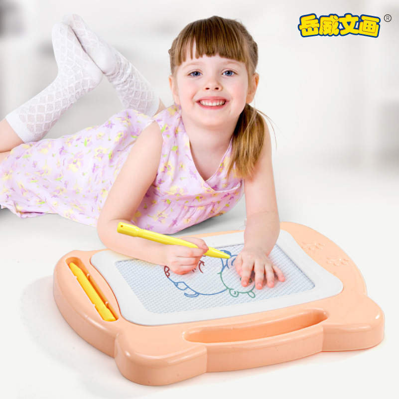 2722 # Educational Early Childhood Children Drawing Board Small Writing Board Color Magnetic Drawing Board CHILDREN'S Toy