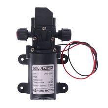 Dc 12 v 130psi 6l/min diafragma de alta pressão da água auto priming bomba 70 w
