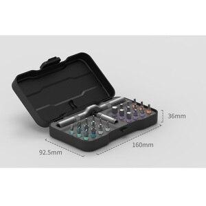 Image 3 - Youpin DUKA RS1 24 ב 1 רב תכליתי מחגר ברגים מברג S2 מגנטי Bits כלים סט DIY ביתי תיקון כלי