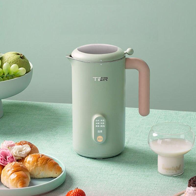 220V Soymilk Maker Machine Electric Juicer Blender Multicooker Automatic Heatable Soya-Bean Milk Rice Paste Maker Free-filter