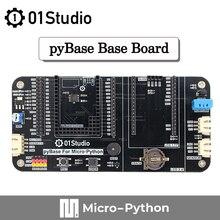 0studio pyBase Micropython Базовая плата, разработка встроенной совместимой с pyBoard STM32 ESP32 K210 OpenMV