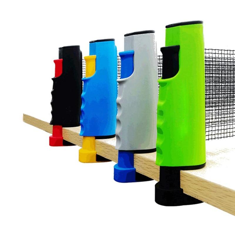 1PC Retractable Table Tennis Table Grid Plastic Strong Mesh Net Portable Net Kit Net Rack Replace Kit Zi