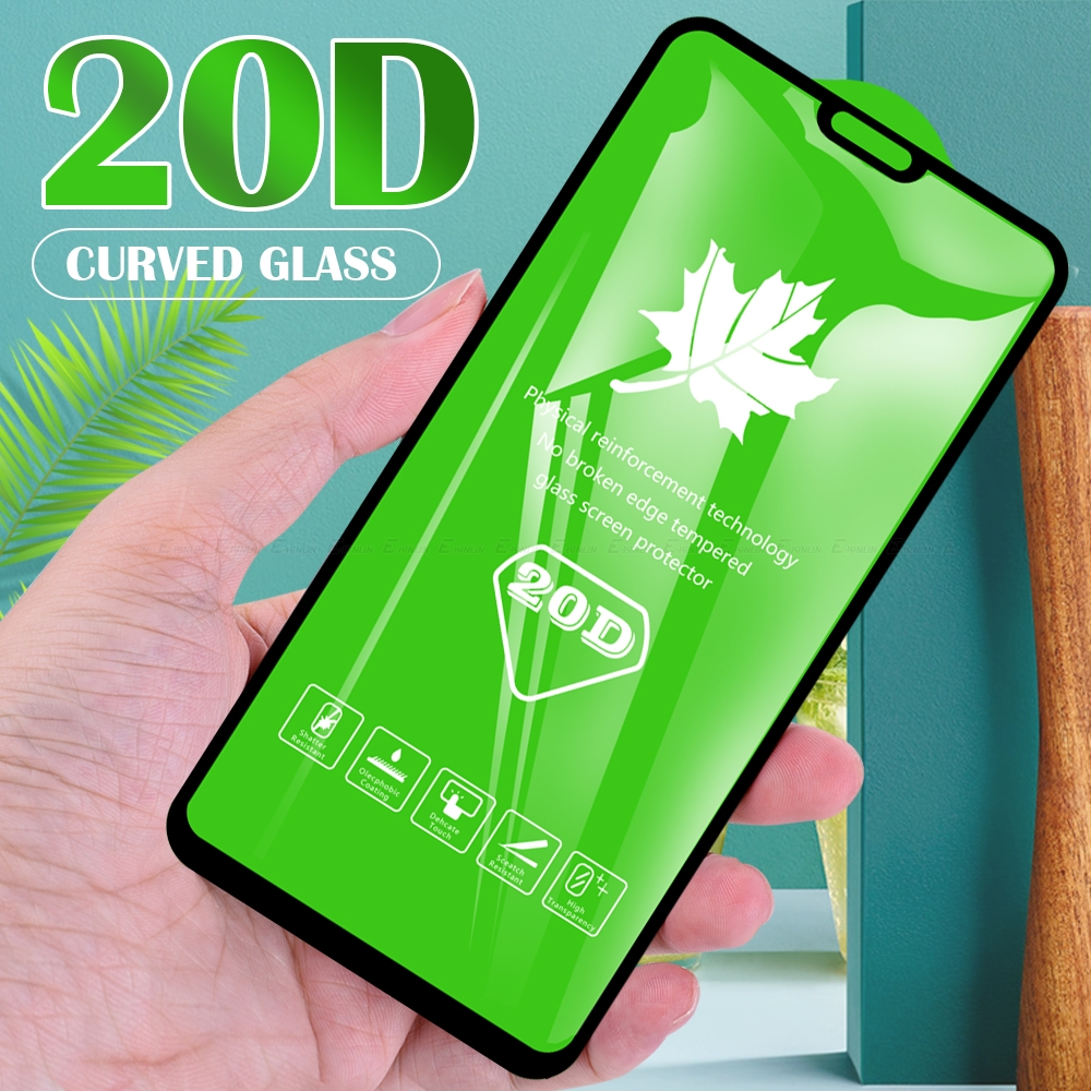 20D Full Cover Glass For Huawei Honor 7C 7A 8S 8A 8X 9X Pro Premium Screen Protector Tempered Glass Protective Film