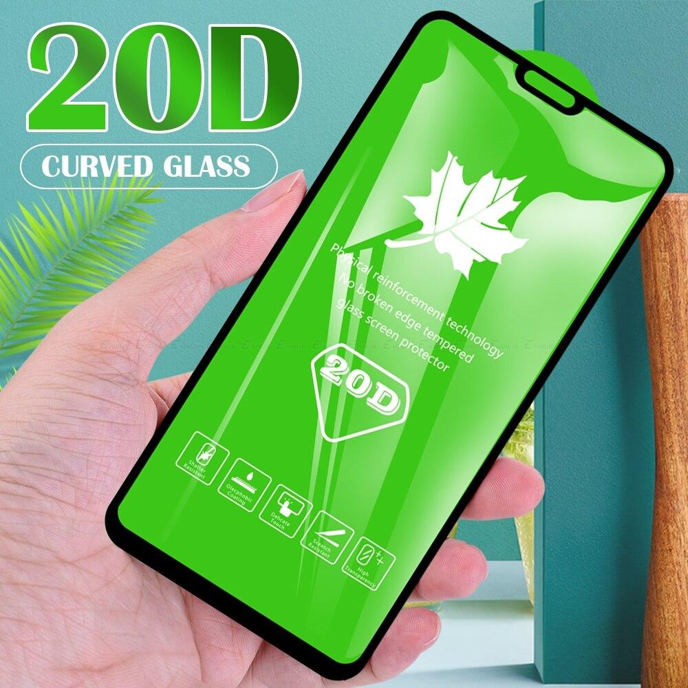 20D verre de couverture complète pour Huawei Honor 9A 9C 9S 8S Prime 2020 8X 9X Pro Premium protecteur décran Film de protection en verre trempé