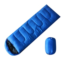 Sleeping Bags Portable Outdoor Camping Bag Ultralight Waterproof Travel Cotton With Cap