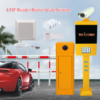 Automatic rfid electronic security long boom parking aluminum arm barrier gate for drive road cheap price with remote control