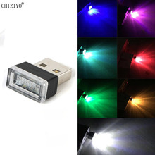 Decor-Lamp Light-Plug Car-Accessories Atmosphere Emergency-Lighting Auto-Interior Mini Led