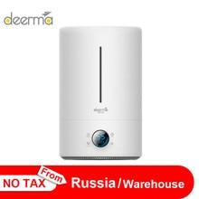 الأصلي المنزل Deerma 5L سعة كبيرة المنزلية كتم الهواء المرطب بالموجات فوق الصوتية الهواء المرطب تنقية المرطب رائحة