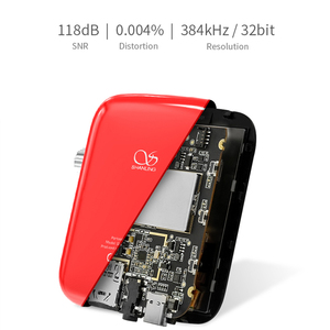 Image 3 - Shanling REPRODUCTOR DE Audio HiFi portátil Q1 ES9218P DAC/AMP, bidireccional, Bluetooth, MP3, compatible con DSD128 PCM32bit/384kHz LDAC/aptX
