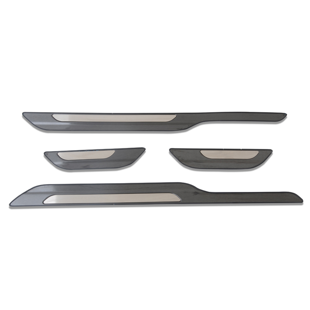 For Toyota Corolla Sport hatchback 2019 Inner Door Sill Scuff Plate Cover Trim