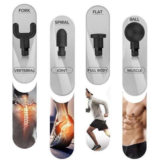 Phoenix A2 Muscle Massage Gun Deep Tissue Massager Therapy Gun Exercising Muscle Pain Relief  Weight Loss Expert 4