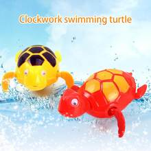 Baby Kids Children Animal Floating Wind-up Swimming Turtle Bathing Toy Gift Cute Cartoon Animal Classic Baby Water Toy Bath Toy(China)