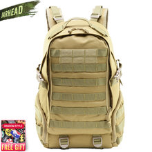 Камуфляжный рюкзак в стиле милитари для активного отдыха тактический