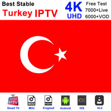 Turkish IPTV Channels Subscription France UK German Arabic Dutch Sweden Smart TV M3U 430+LIVE/2000+VOD(China)