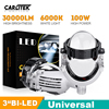 Carlitek Bi-LED Projector Headlight Lenses 3.0 inch 70W 9005 9006 H1 H4 H7 High Low Beam Lens LED Running Lights For Car Bulb XQ
