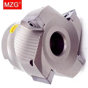 Image 2 - MZG הנחה מחיר BAP400R50 22 4T ארבעה הכנס מהודק עיבוד חיתוך סוף Shank טחנת כתף ימין זווית כרסום קאטר