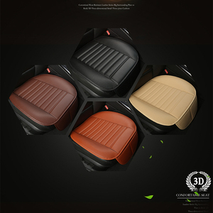 Image 3 - WLMWL Universal Leather Car seat cover for Mitsubishi outlander ASX all models lancer pajero sport pajero dazzle car styling