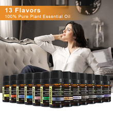 10ml Essential Oil Set Water-soluble Relieve Stress for Humi