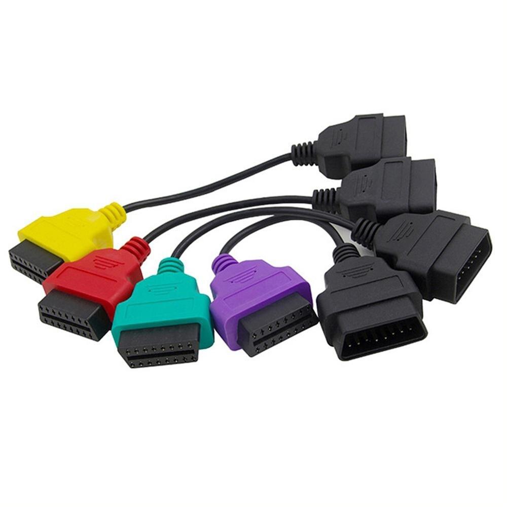 4 шт. Новинка 2019 для Fiat ECU Scan Adapter OBD OBD2 разъем мульти ECU Scan ABS Подушка безопасности obd2 сканер Диагностический кабель
