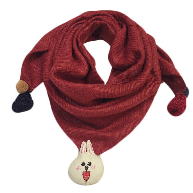 Весенние клетчатые треугольные шарфы в горошек для маленьких девочек; осенне-зимняя шаль для мальчиков и девочек; Детские хлопковые воротники; теплый детский шейный платок - Цвет: D6