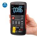 ЖК-цифровой мультиметр для DMM DC/AC Вольтметр Амперметр Ом Гц тестер температуры с ЖК-подсветкой Дисплей Цифровой мультиметр