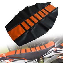 Blue Motorcycle Gripper Soft Seat Cover Seat Cushions For KTM 65 85 125 200 250 300 400 450 525 SX EXC MXC