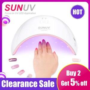 Image 1 - SUN9c Plus Đèn UV Sunuv LED Máy Sấy Móng Tay Cho Chữa Tất Cả Các Gel Làm Móng Tay Nail Móng Tay Salon Hoàn Hảo Ngón Tay Cái sấy Giải Pháp