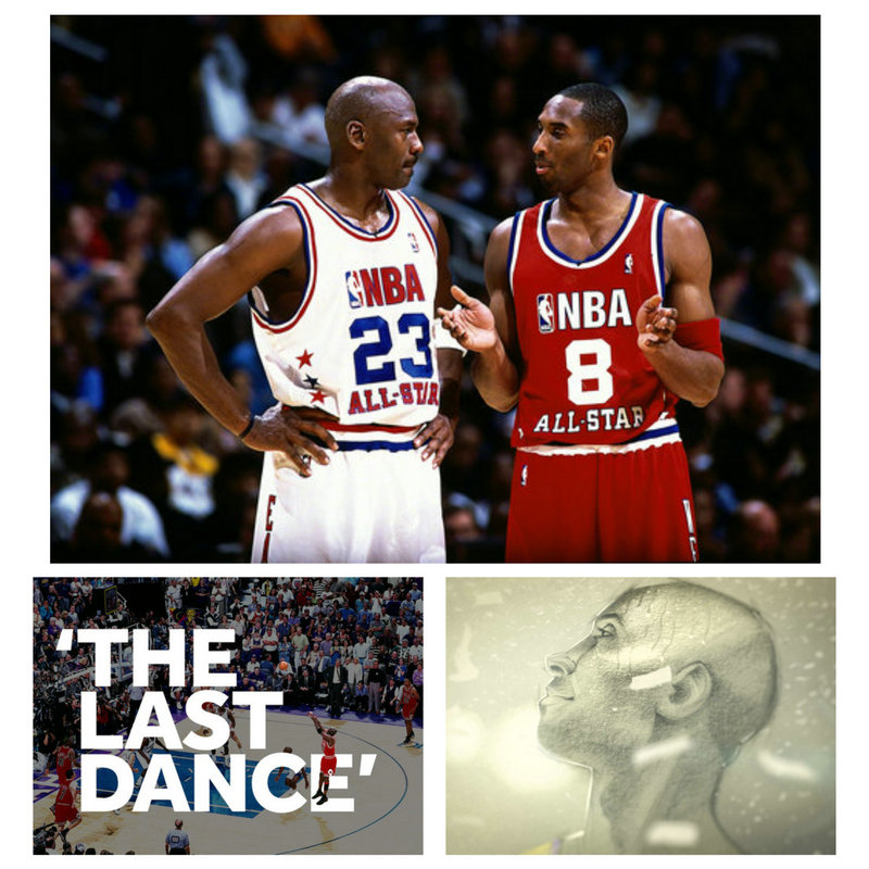 CANVAS Painting Moive NEW Sport 2020 The Last Dance Michael Jordan VS Dear Basketball Kobe Bryant All Star Game Poster Wall Art Painting & Calligraphy    - AliExpress